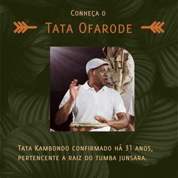 Conheça Tata Ofarode