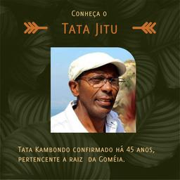 Conheça o Tata Jitu, palestrante do festival Xetruá Lavizala.