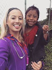 Medical student on medical mission trip