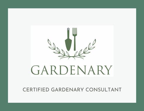 Gardenary Certificate.png