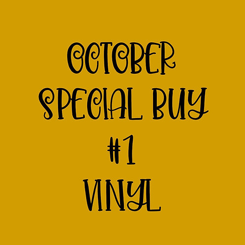 October Special Buy #1 Vinyl