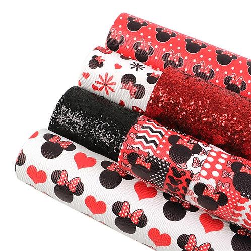 Mouse Fun Red Sheet Set