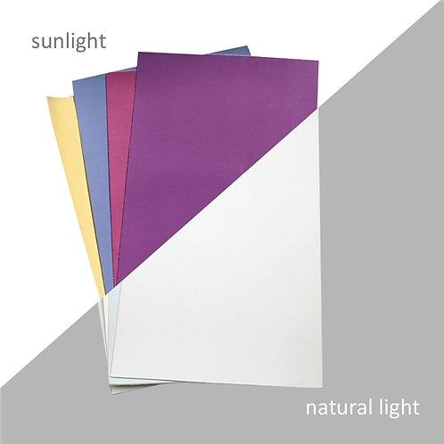 UV Reactive (Color Changing) Sheet Set