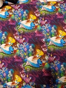 Alice and Friends Fabric