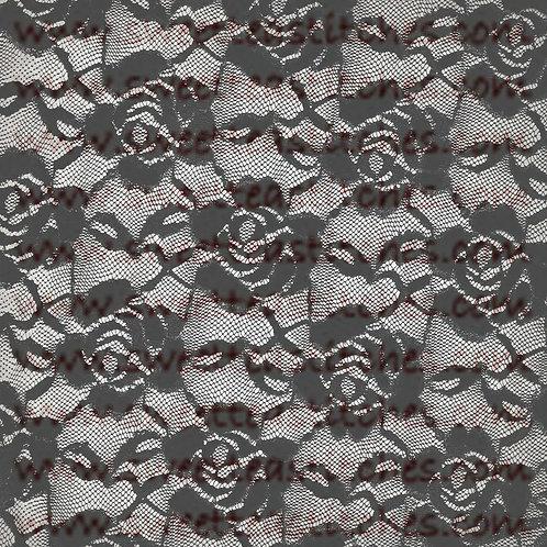 Dark Series - Lace Flowers Vinyl