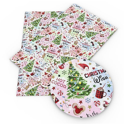 Christmas - Most Wonderful Time Fabric