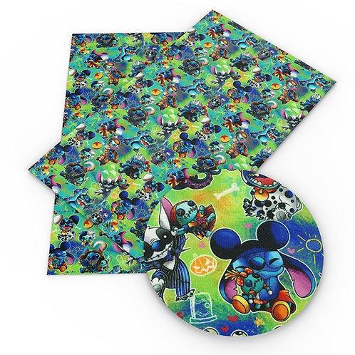 Blue Guy Costume Teal Vinyl