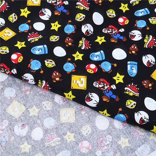 Super Brothers Fabric