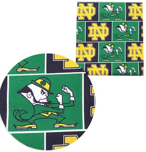 Sports College Theme Fabric