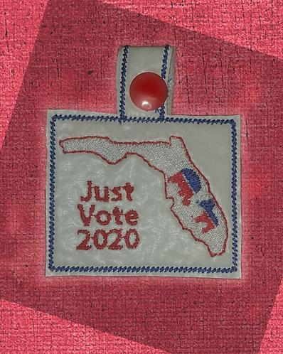 Florida Just Vote Key Fob