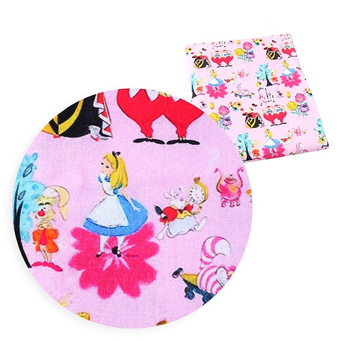 Alice in Pink Fabric