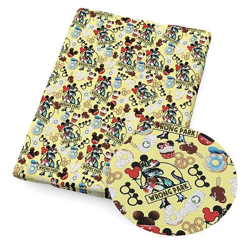 Mouse Park Mixup Fabric