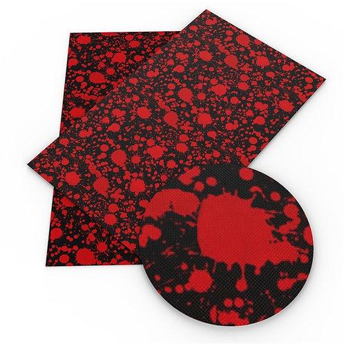 Blood Splatter Black Vinyl