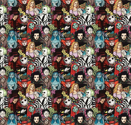 Horror Mashup Fabric
