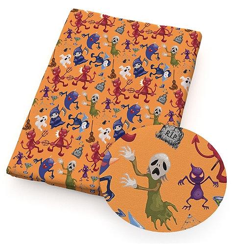 Halloween Spooks Fabric