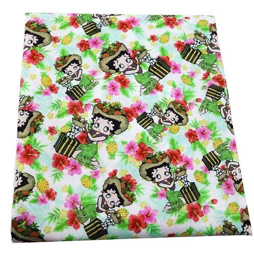 Boopidy-Boo Hula Girl Fabric