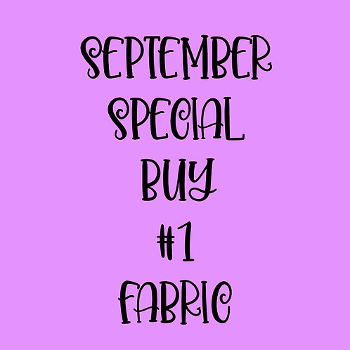 September Special Buy #1 Fabric
