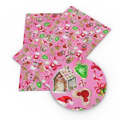 Christmas Treats Pink Vinyl