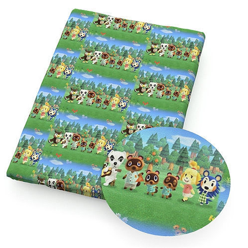 Critter Crossing Fabric