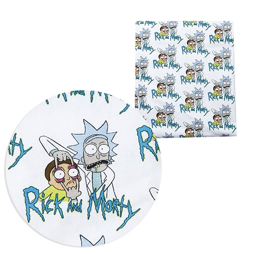 Ricky and Mort Fabric