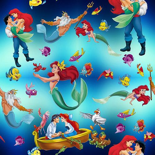 Mermaids Fabric