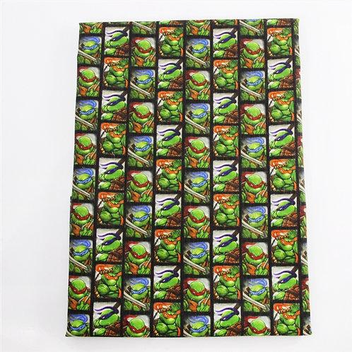 Ninja Turtle Friends Fabric