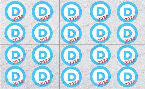 """""""D"""" 2020 Gray Vinyl"""