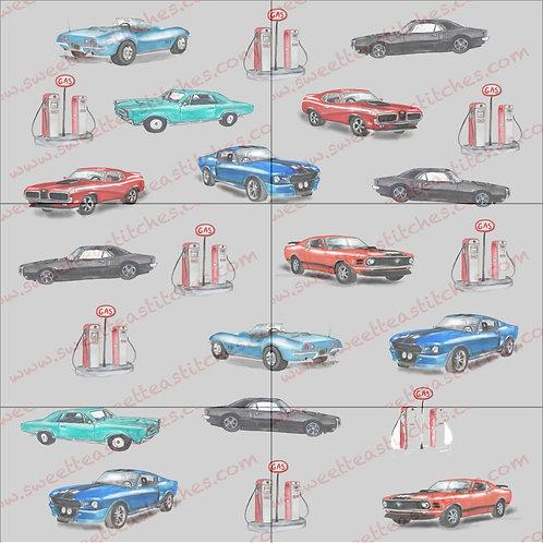 Classic Cars Vinyl