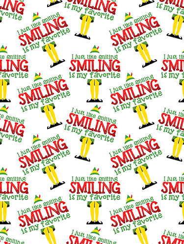 Christmas - Smiling is My Favorite Fabric