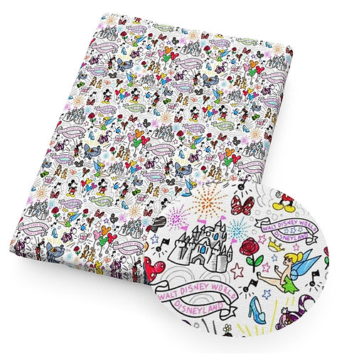 Mouse Doomy Fabric