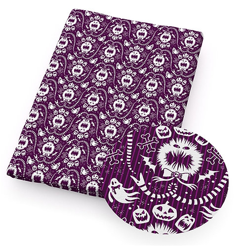 J&S Splatter Purple Fabric