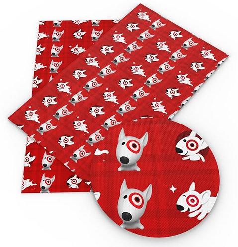Bullseye Pup Red Vinyl
