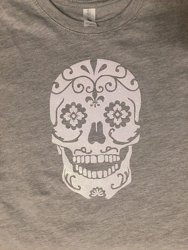 """Mommy and Me"" Sugarskull Toddler Tee"