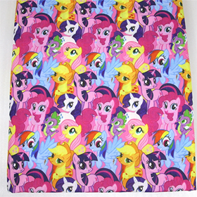 Cutest Little Pony Mashup Fabric