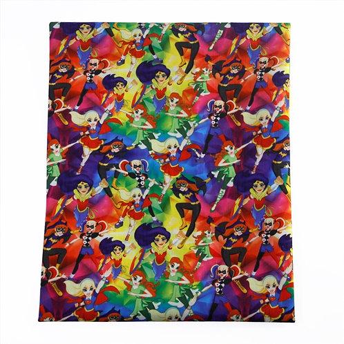 Princess Superhero Fabric