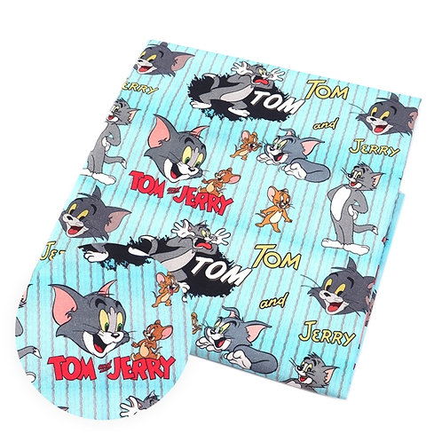 Cats - Cat and Mouse Fabric