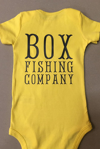 """Personalized """"You're Name"""" Fishing Company Onsie"""