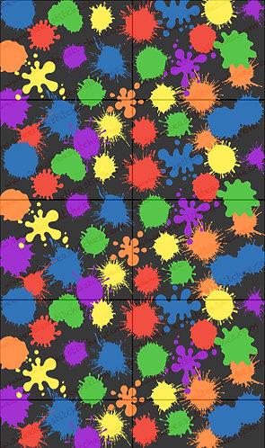 Paint Splatters Vinyl