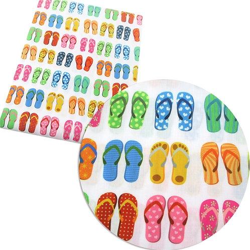 Flip Flops Fabric