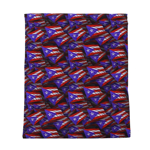 Flags Puerto Rico Fabric