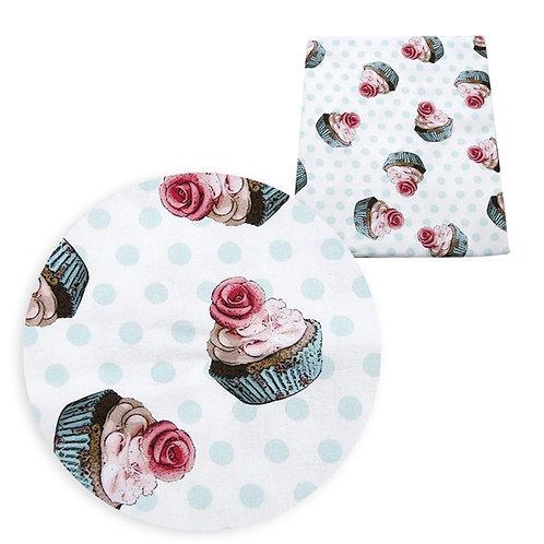 Cupcakes Fabric