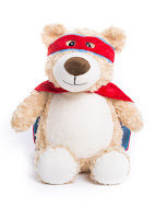 Hero Bear - Red & Blue