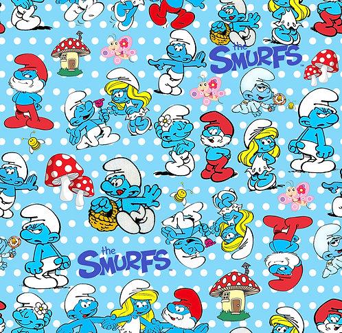 Smuurffs Fabric