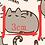 Thumbnail: Cats - Emoji Cat Fabric