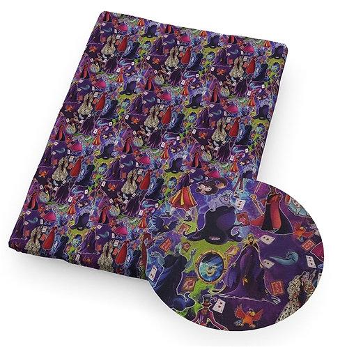 Lady Villains Fabric