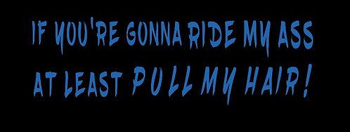 """""""Ride My Ass"""" Decals"""