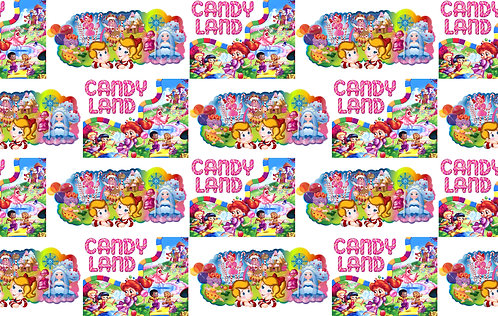Board Games - CandyLand Fabric