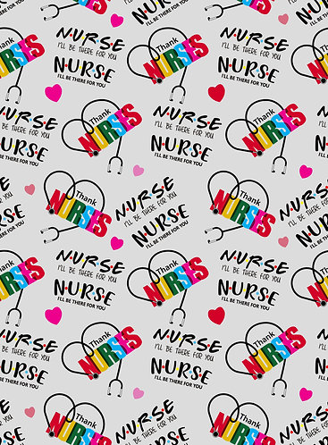 The One Where They Were Nurses Fabric
