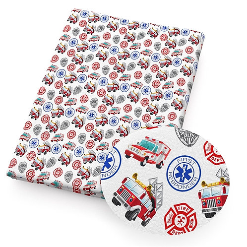 First Responders Fabric