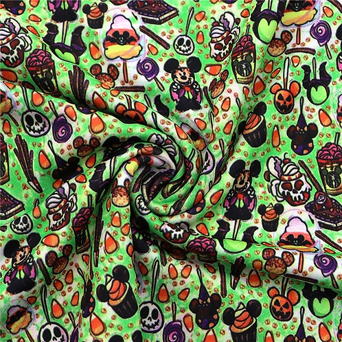 Mouse and His Creepy Friends Fabric
